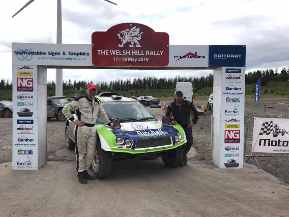 Justin Birchall and Jonathan Koonja take the win at The Welsh Hill Rally 2019