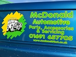 McDonald Automotive Sponsors the Welsh Hill Rally 2018